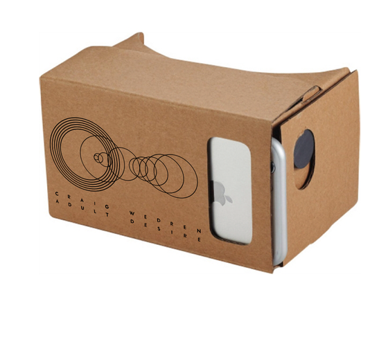 Image of (PRE-ORDER) VR Goggles - Adult Desire Theme by Craig Wedren