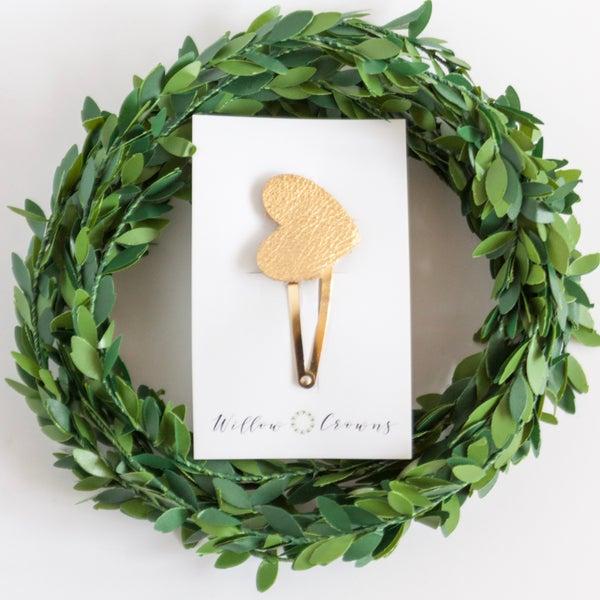 Image of Gold Mini Heart Clip