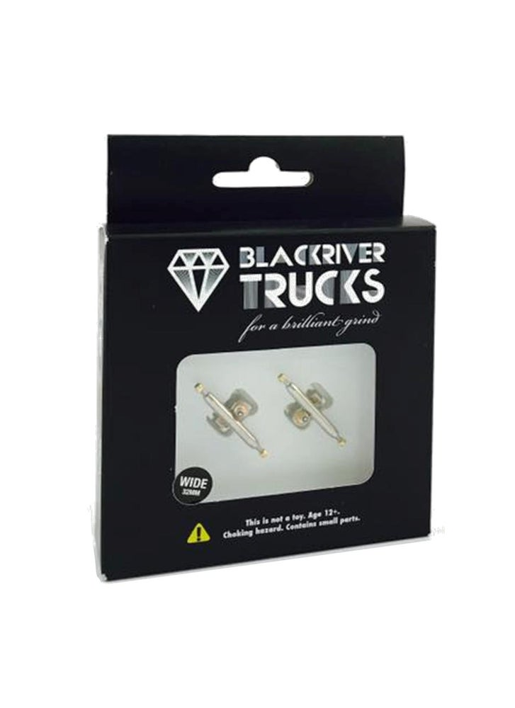 Image of Blackriver Trucks Wide 2.0 32mm Silver