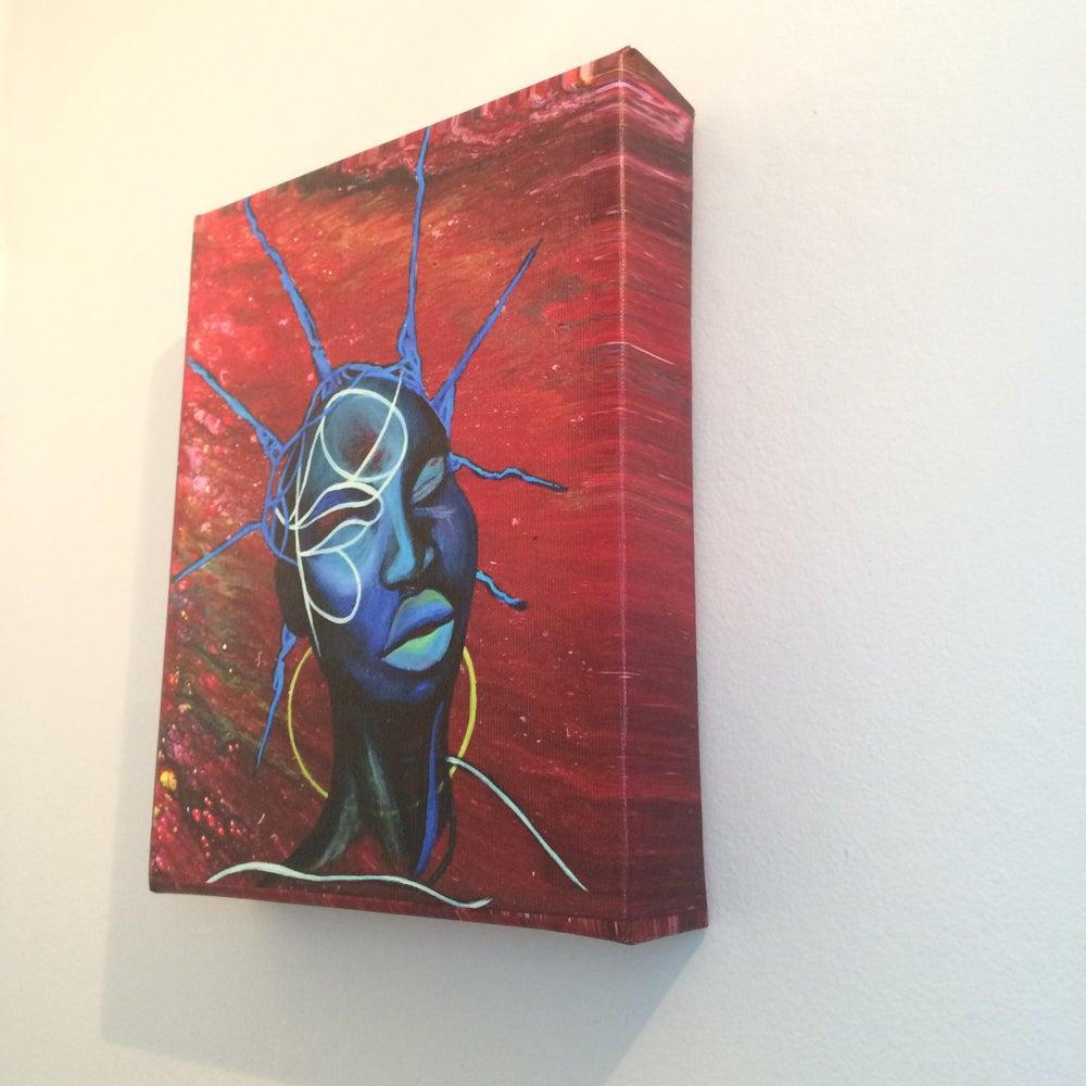 Image of ''Decoder''  canvas box print