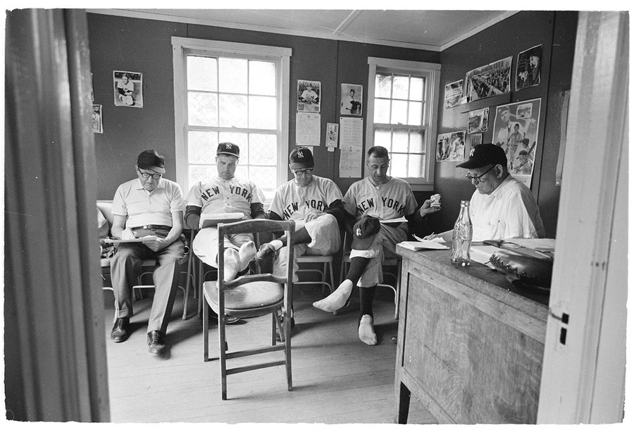 Image of The Yankee Front Office; Early 1960s