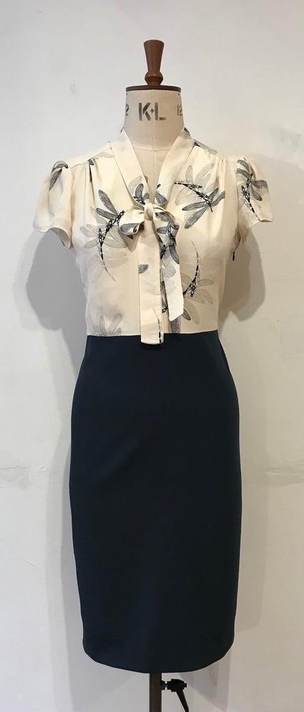 Image of Helene dragonfly dress