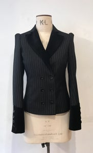 Image of Double breasted bustle jacket