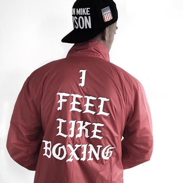 Image of RED i feel like boxing lined jacket