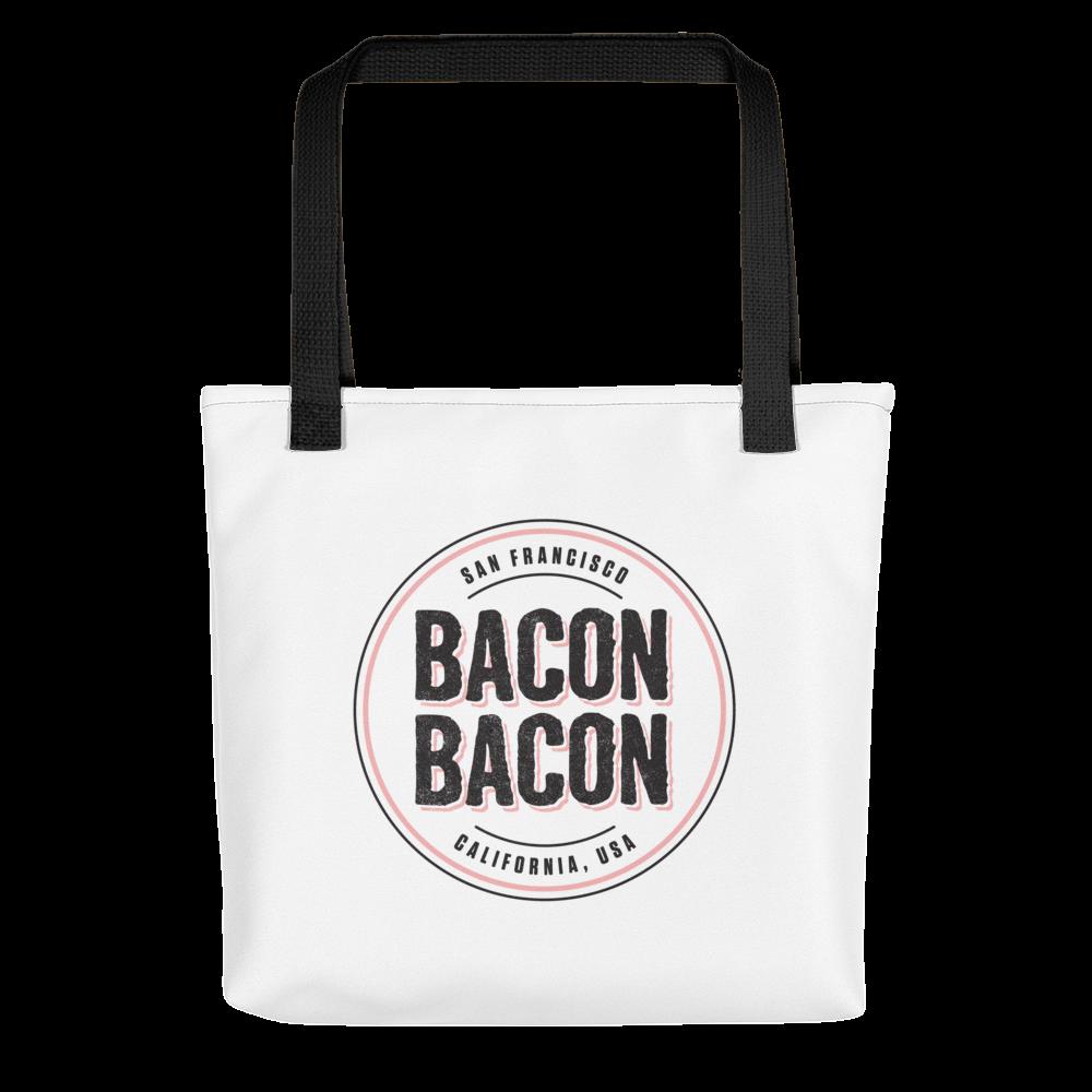 Image of Bacon Bacon Logo Tote
