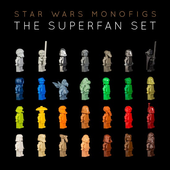 Image of THE STAR WARS SUPERFAN SET [LIMITED EDITION]