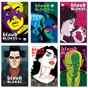 Image of Blood Blokes 6 Issue Bundle
