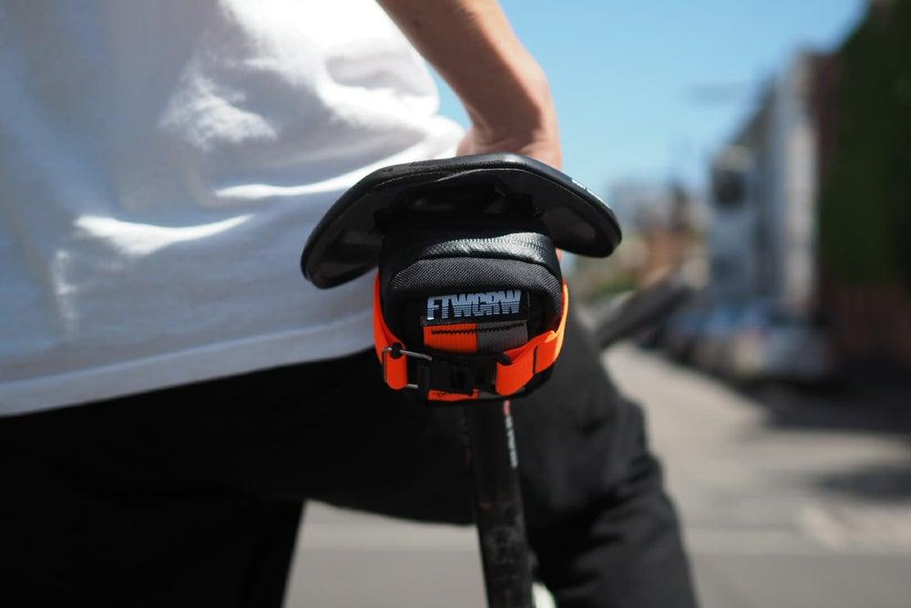 Image of FTWCRW x Skingrowsback Plan B Micron Saddle Bag