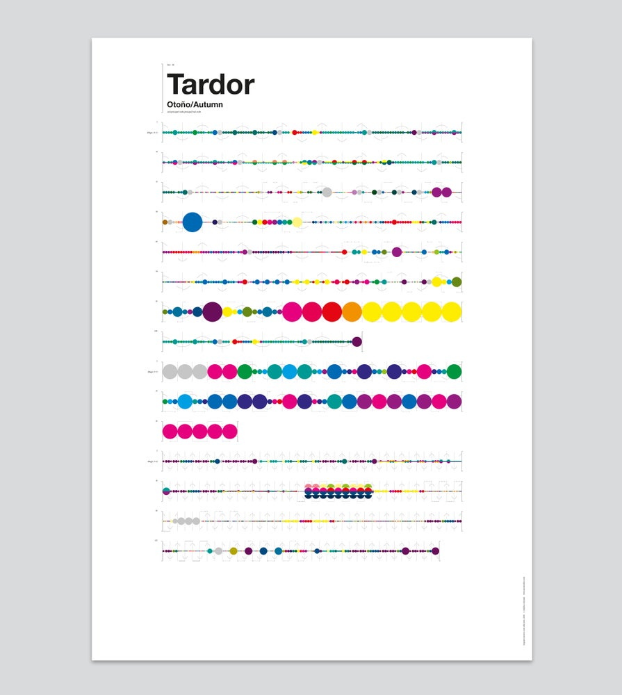 Image of Tardor — Poster