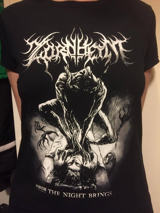 Image of Zornheym shirt Girlie Motive from the song WHOM THE NIGHT BRINGS