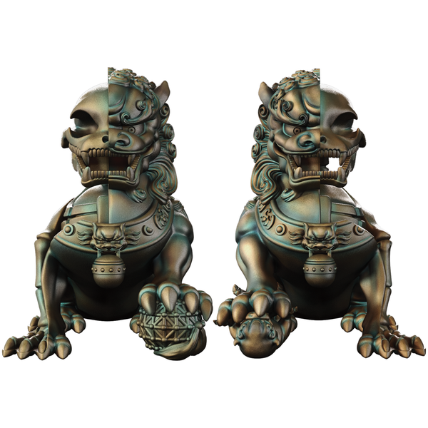 Image of Foo Dogs by Jason Freeny