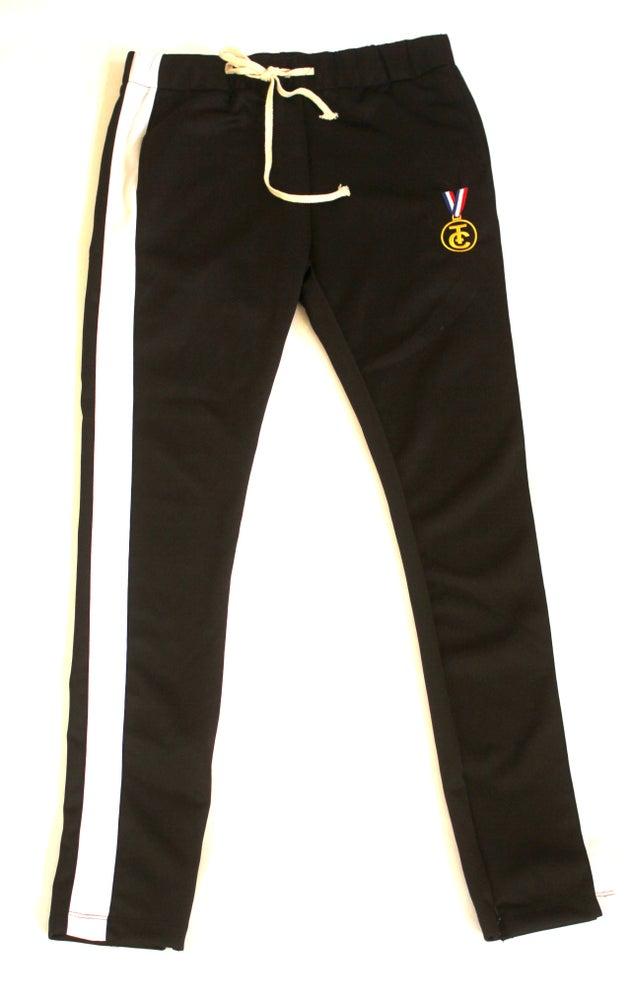 Image of TRACK PANTS (BLACK)