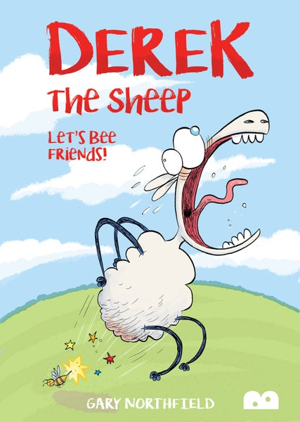 Image of Derek The Sheep: Let's Bee Friends by Gary Northfield