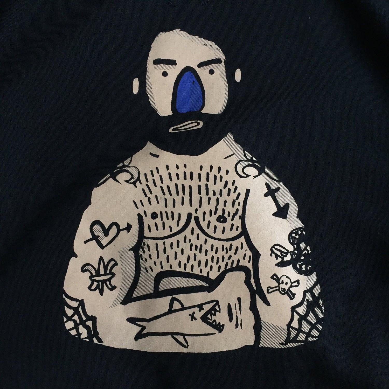 Image of Sailor Black sweatshirt
