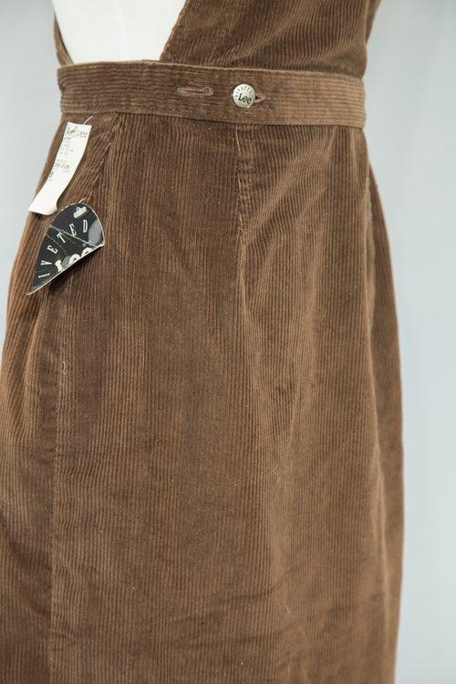 Image of Vintage Lee Corduroy Overalls
