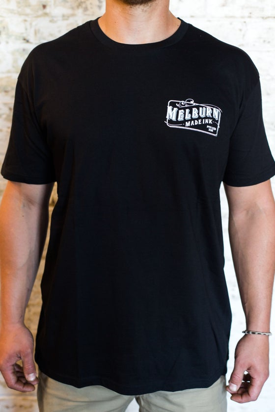 Image of Melburn Made TJ Edition T-Shirt Black