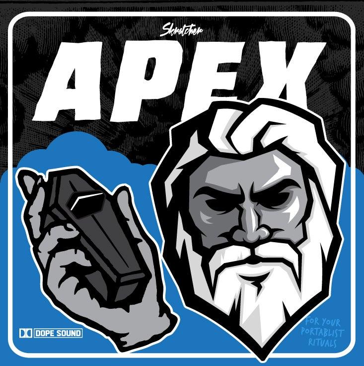 "Image of APEX 7"" - SKRATCHER (WUNDRKUT, PAUL SKRATCH & MIKE MSA)"