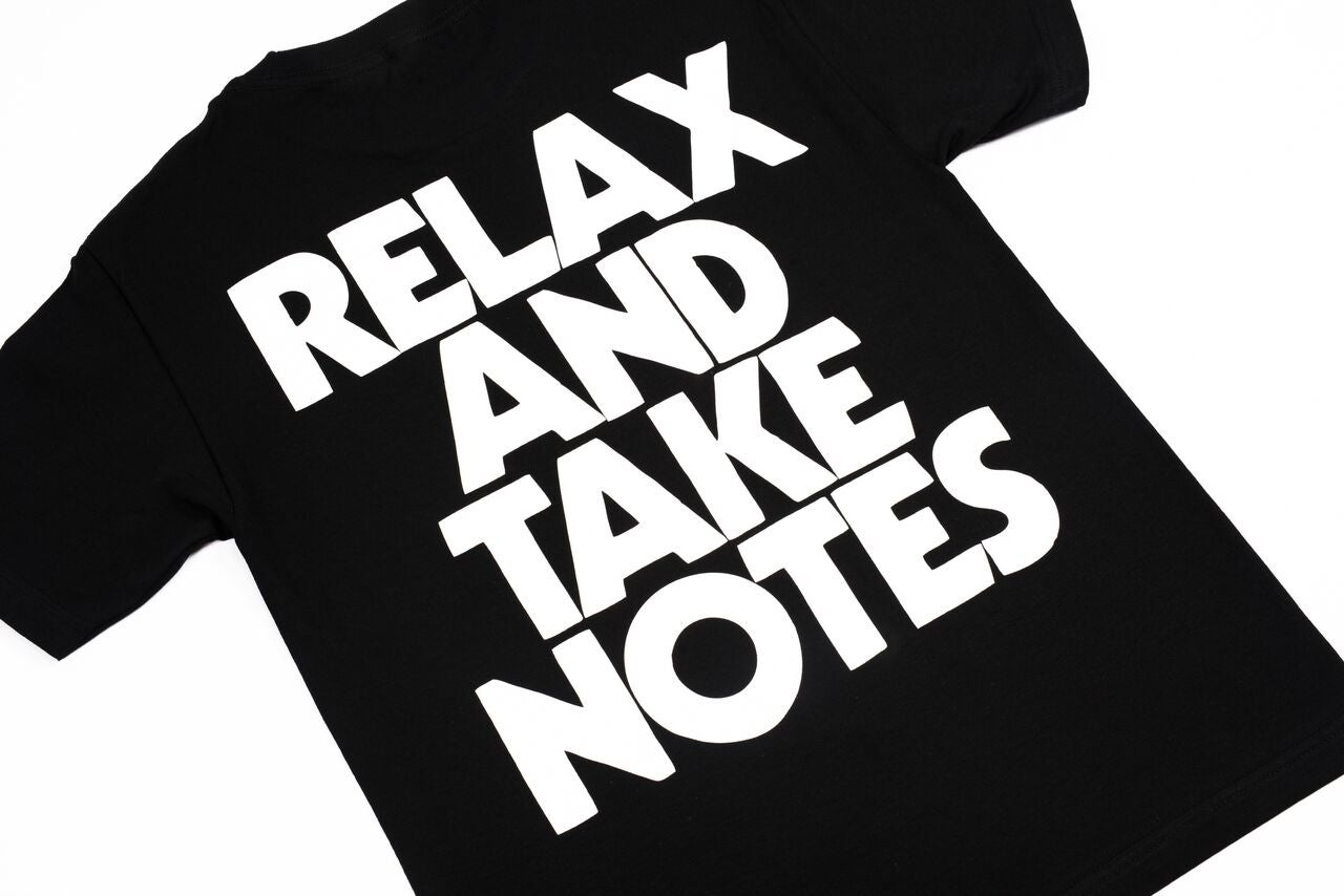 Image of RELAX AND TAKE NOTES