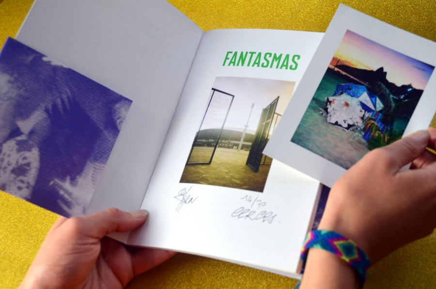 Image of *Limited Edition of 15* Signed & Numbered FANTASMAS Photo Book + Unreleased Photo Print + Poster