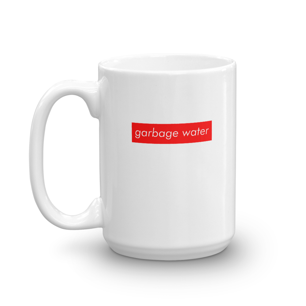 Image of Garbage Water  Coffee Mug