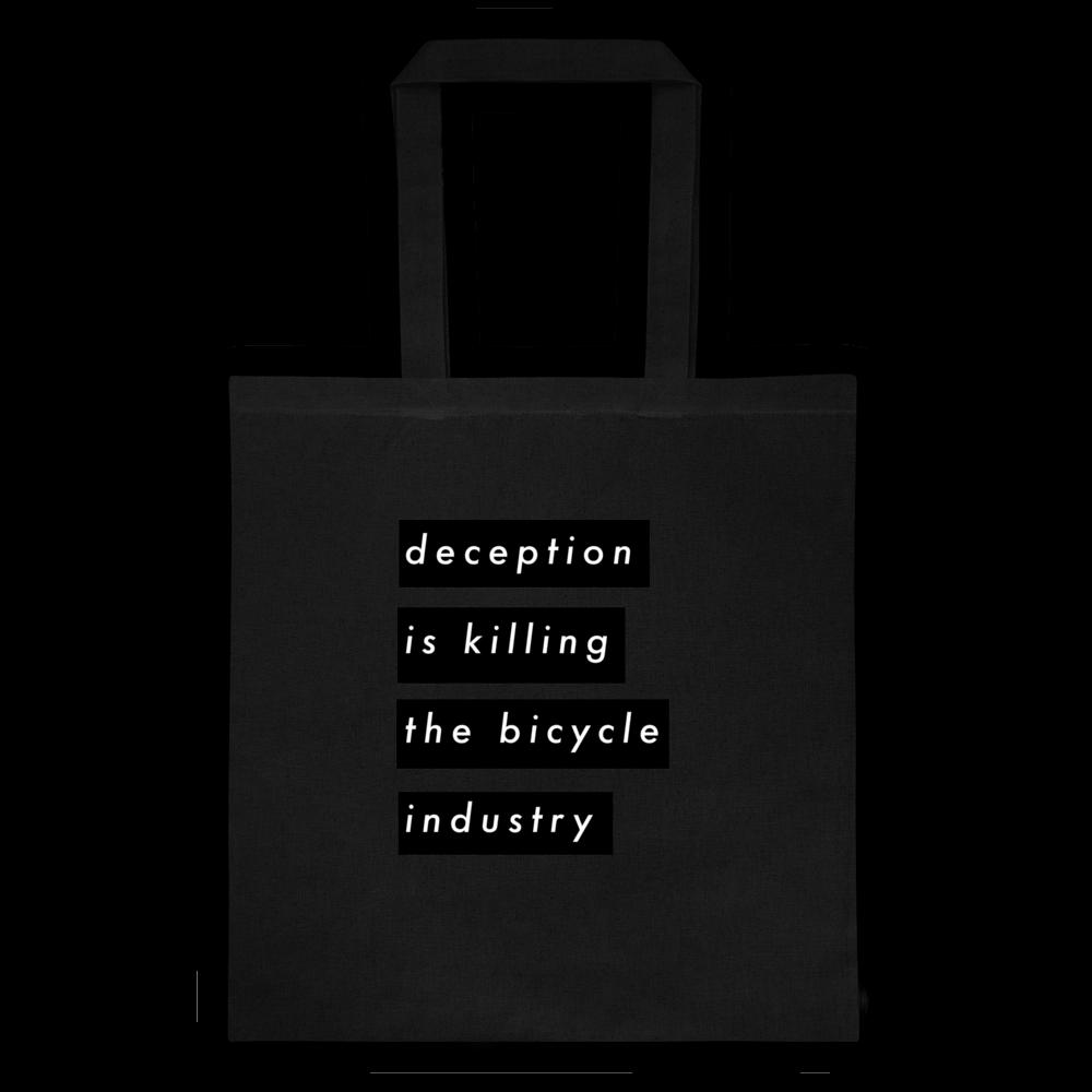 Image of D E C E P T I O N /// Tote Bag