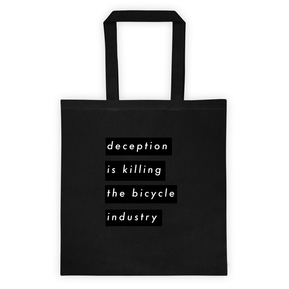Image of D E C E P T I O N /// Tote Bag