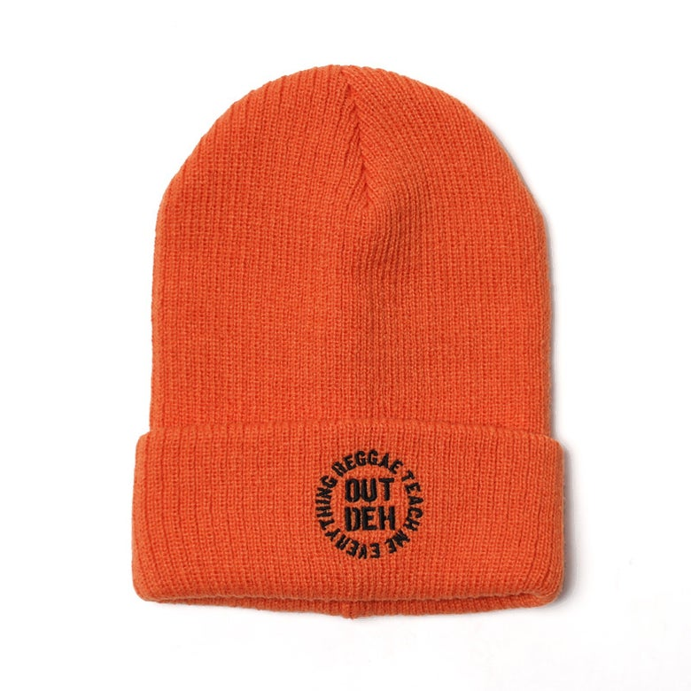 Image of Out Deh x RTME Beenie Orange