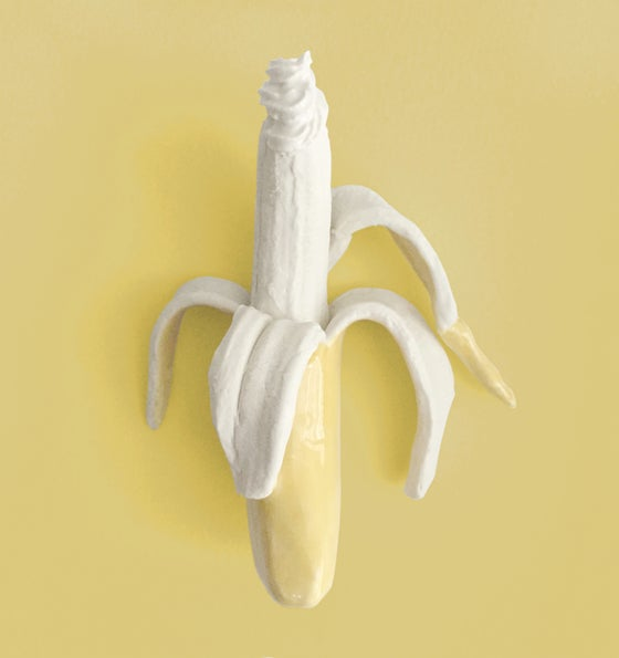 Image of Wall-Mounted Banana Temptation