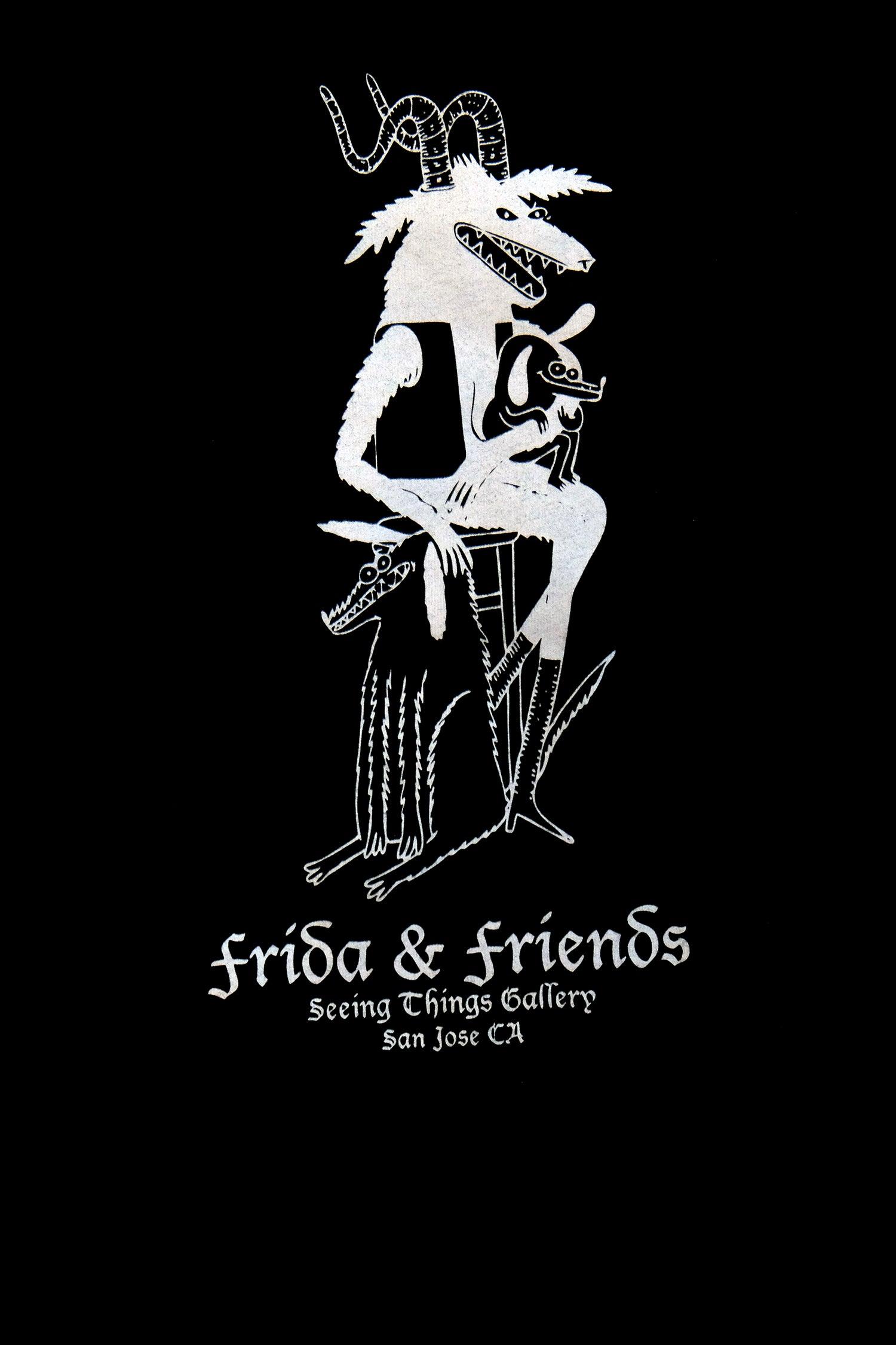 Image of Frida & Friends black T shirts