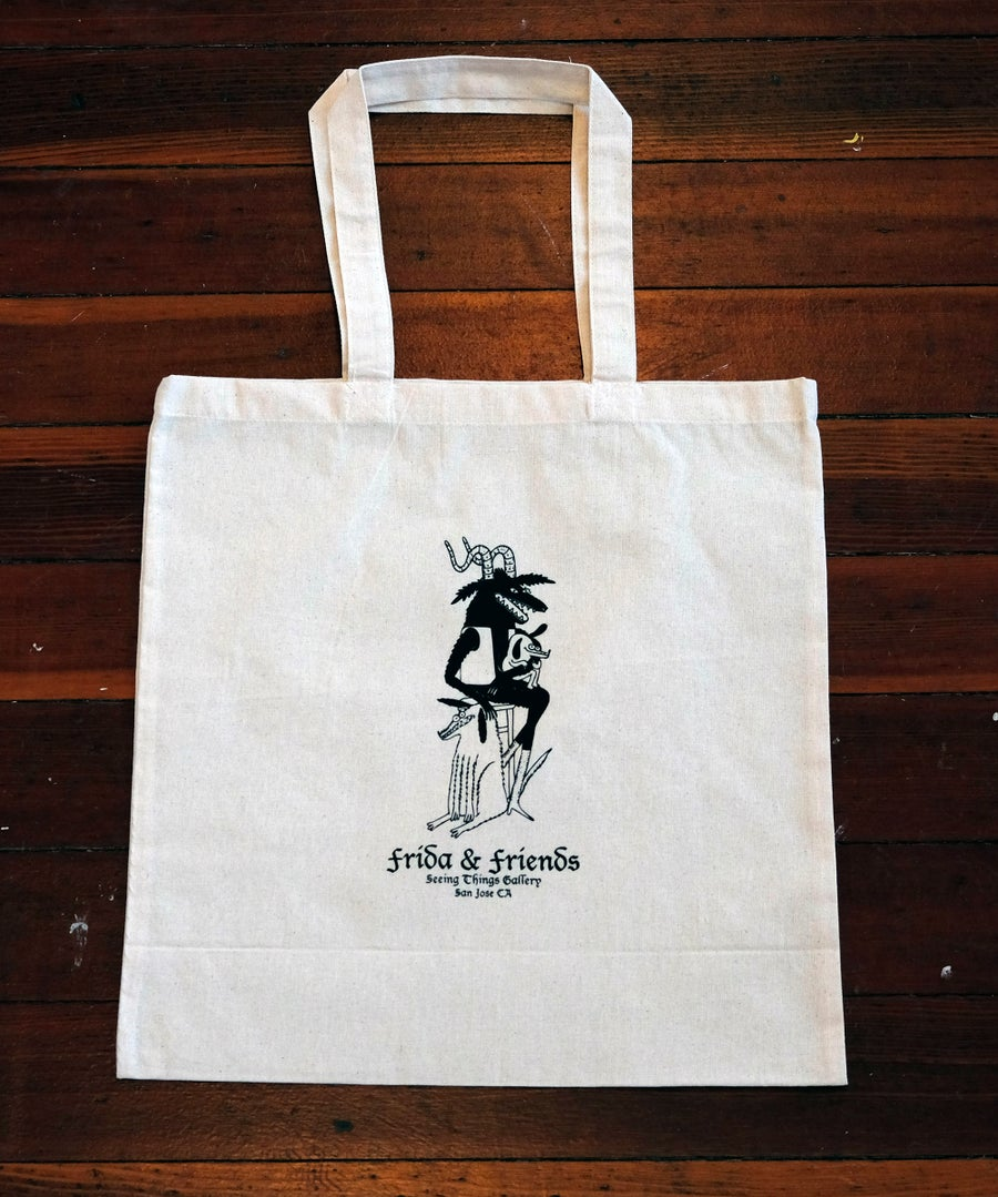 Image of Frida & Friends tote bag