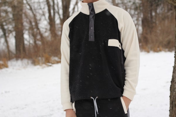 Image of Polar Fleece 3/4 Pullover