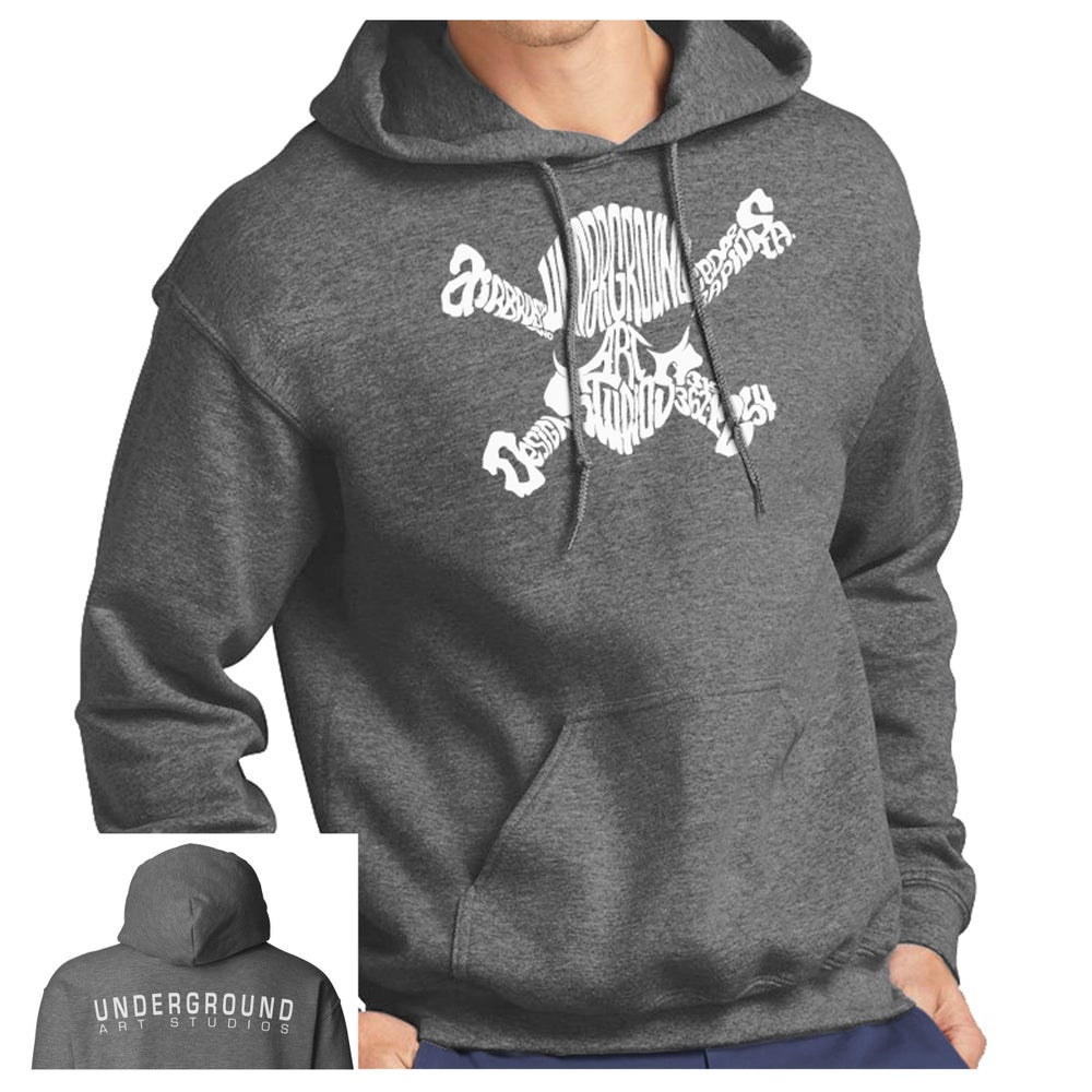 Image of Skull & Bones Hoodie (Adult & Youth)