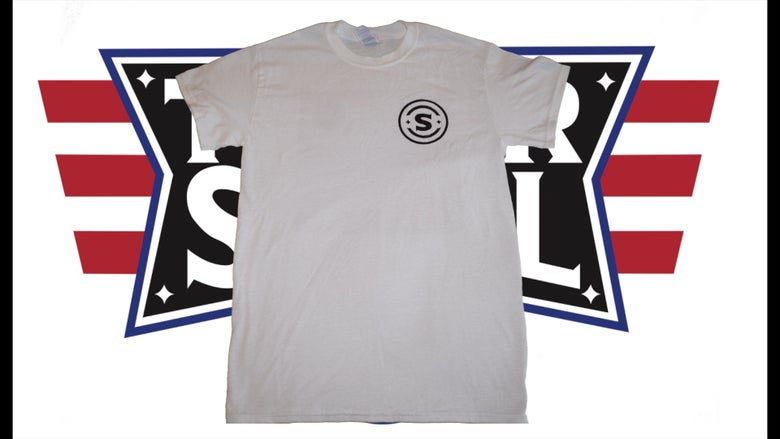 Image of Tyler Steel 3rd Gear T-Shirt (White)