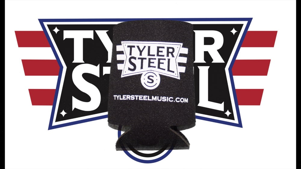 Image of Tyler Steel Koozie