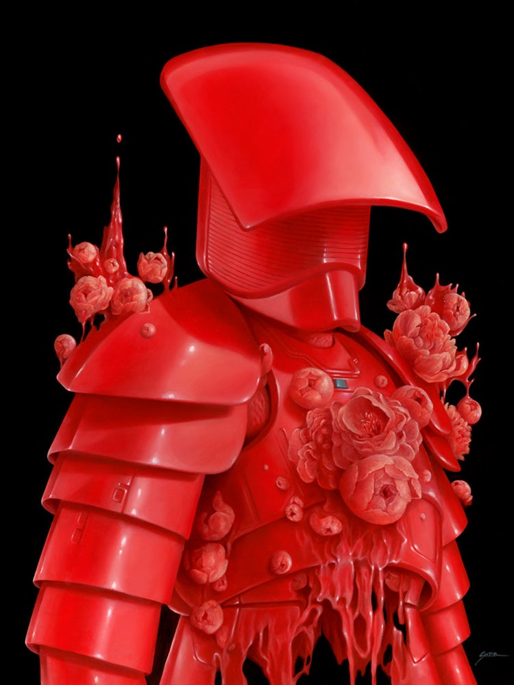 Image of Knight of Red