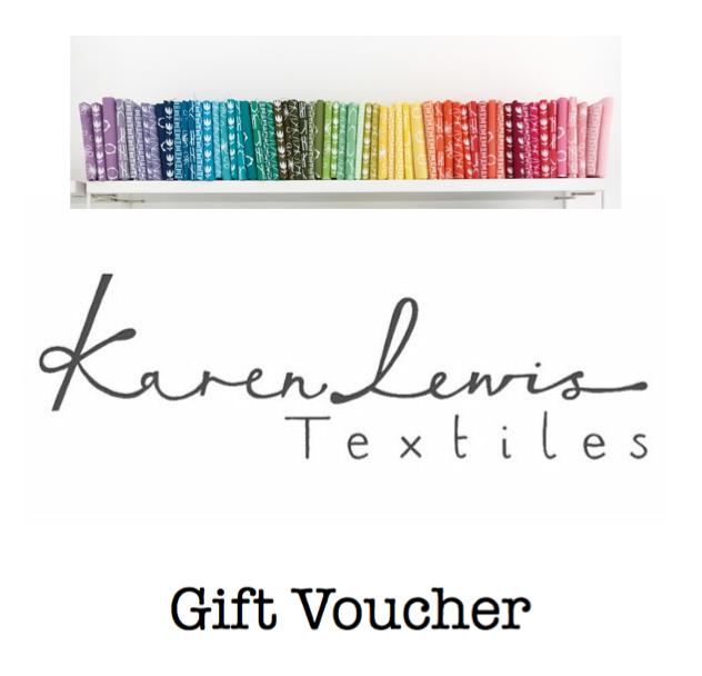 Image of Karen lewis Textiles Gift Voucher