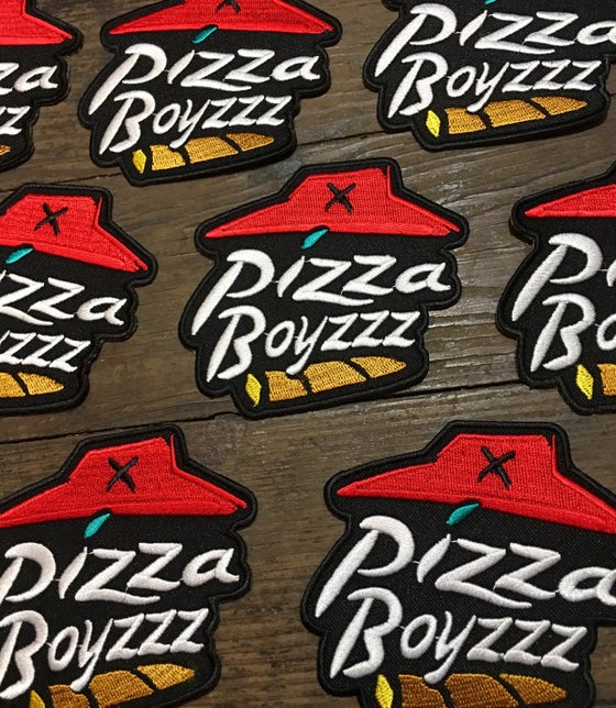 Image of PIZZABOYZZZ OFFICIAL TEAM PATCH (4 INCH)