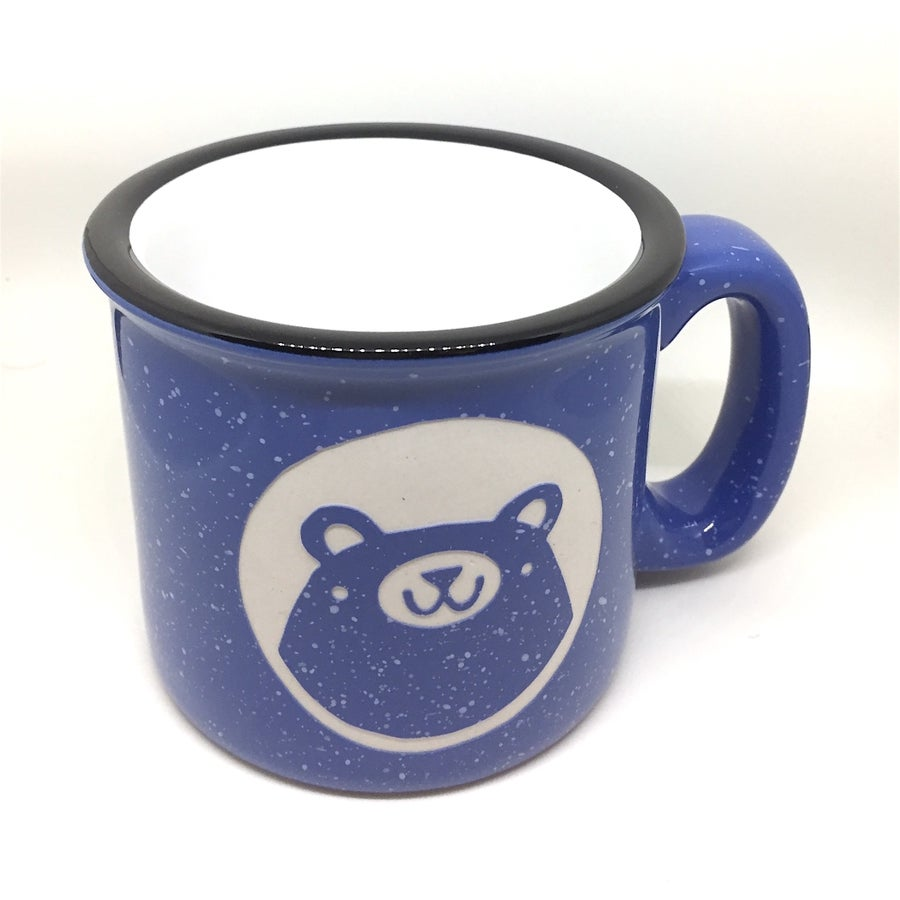 Image of bear camp mug (new colors)