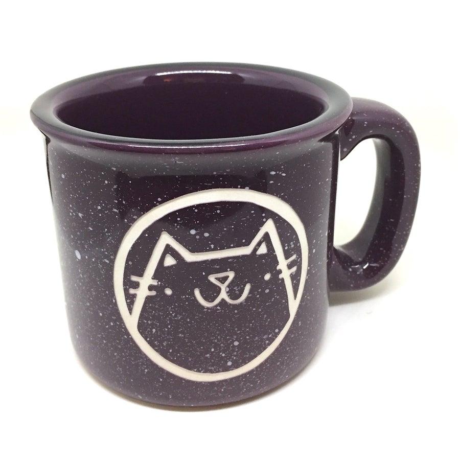 Image of cat camp mug (new colors)