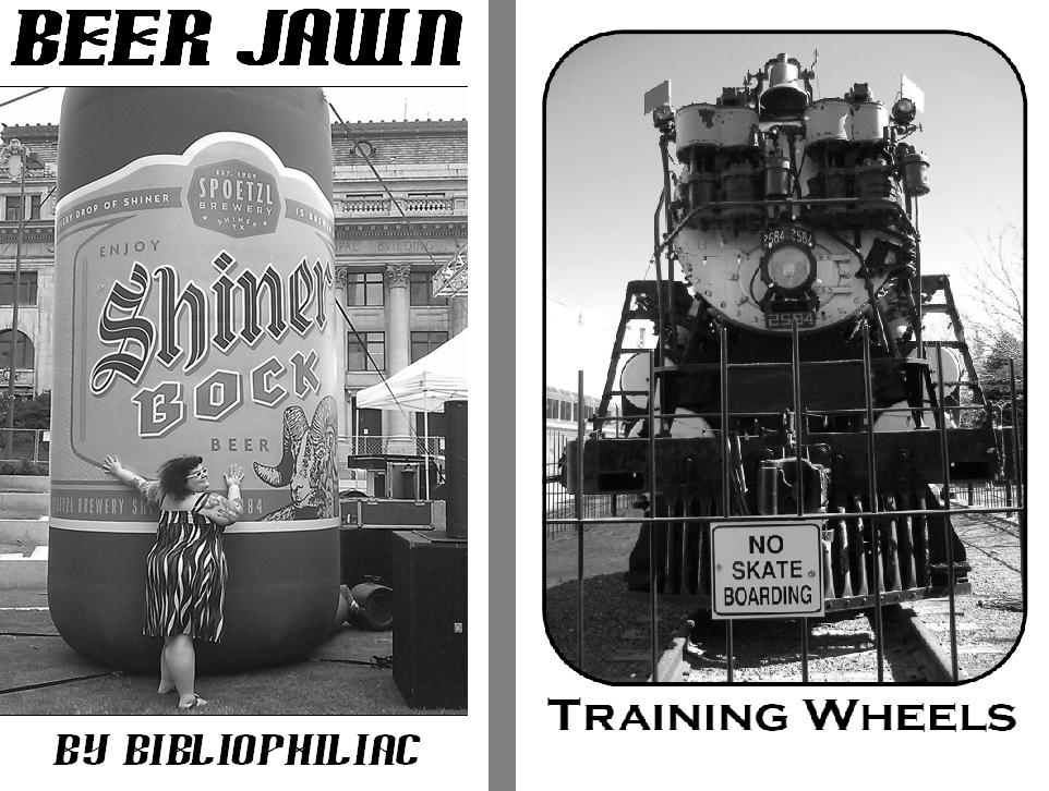 Image of Training Wheels & Beer Jawn zines