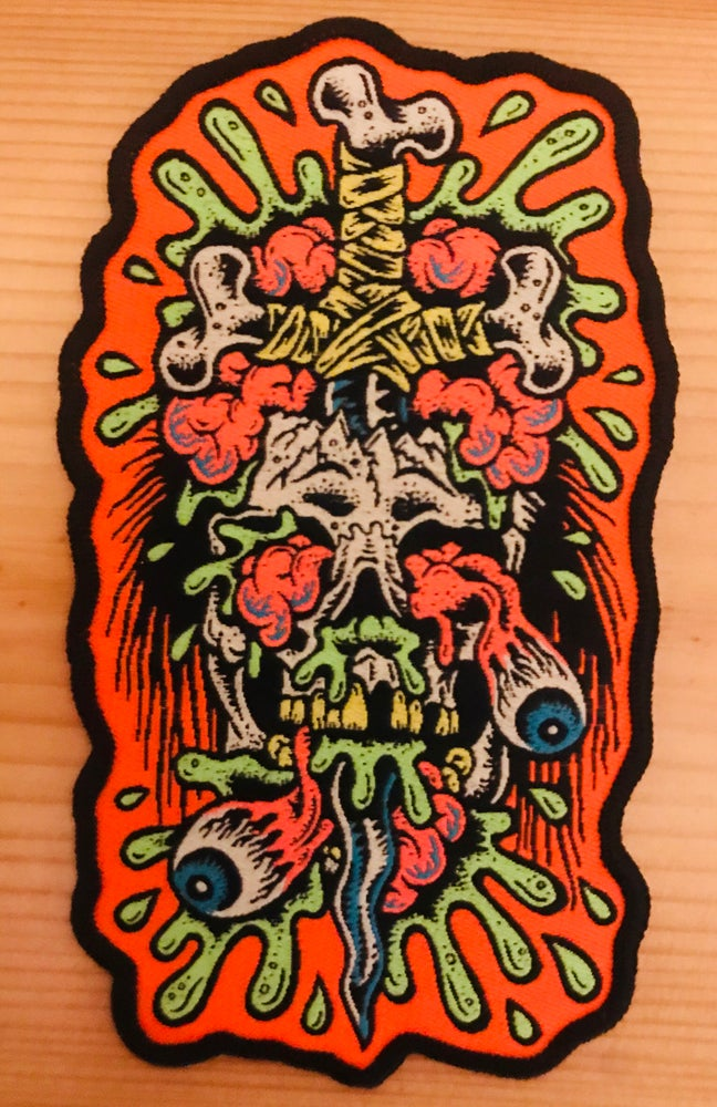 Image of Psychedelic dagger