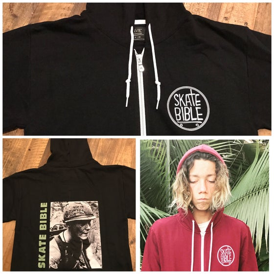 "Image of Limited Edition ""Sin Is Murder"" Black Hoodie."