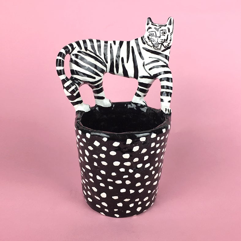 Image of Tiger Pot