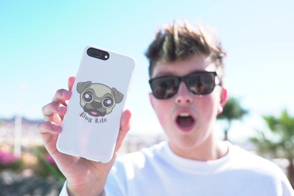 Image of Pug Life iPhone Case