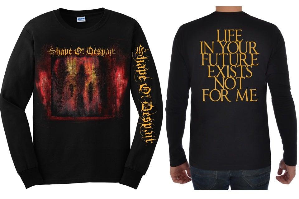 Image of Descending Inner Night - Longsleeve Shirt