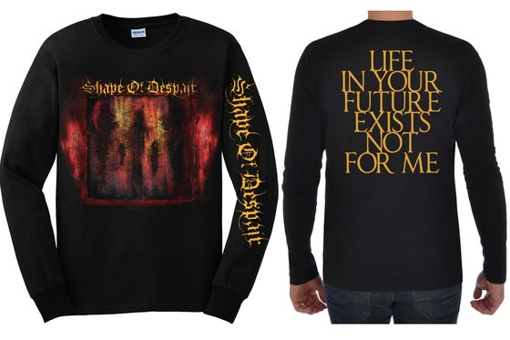 Image of Descending Inner Night - Longsleeve Shirt