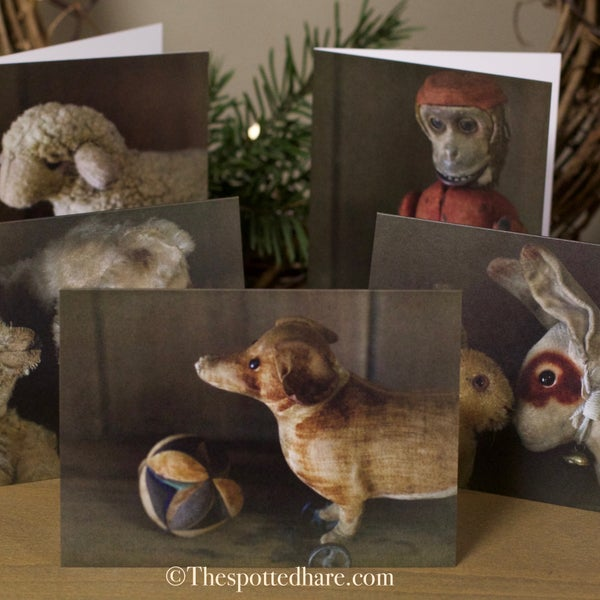 Image of Notecards ~ Photos of Antique German Toys