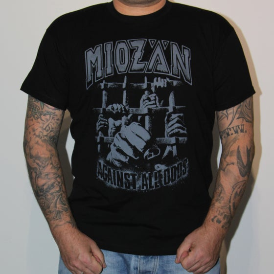 Image of AGAINST ALL ODDS T-SHIRT, black