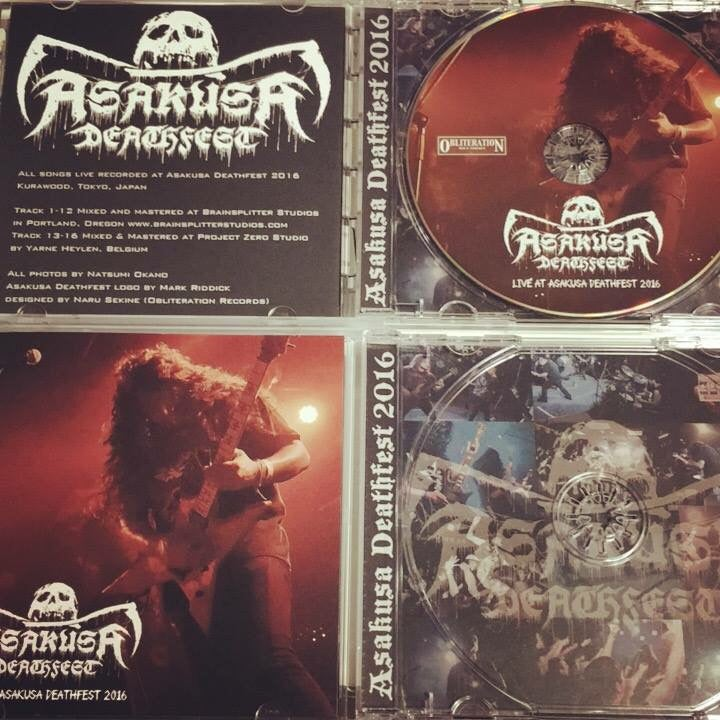 Image of Live at Asakusa Deathfest Compilation Cd