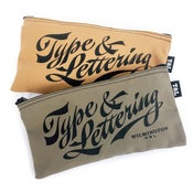Image of Type and Lettering Pencil Case